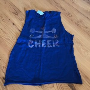 Other - Customer Made Embellished Cheer Tank